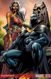 T'Challa and Ororo